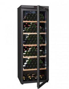 cave à vin de conservation noire