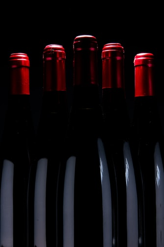 bouteilles noires